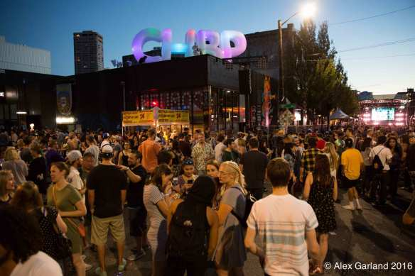 The 20th edition of the modern format of the Capitol Hill Block Party again filled Pike/Pine with Block Partiers this weekend (Images: Alex Garland for CHS)