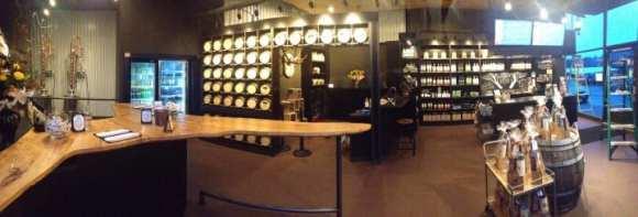 The company's Gig Harbor tasting room (Image: Heritage Distilling Company)