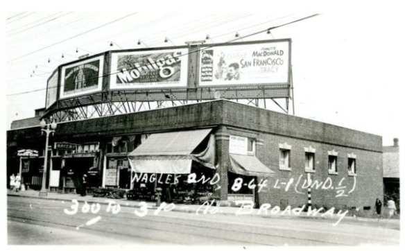 Former Progressive Market in 1937