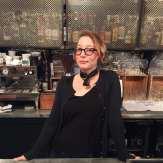 Liz Pachaud of Honor Society Coffee
