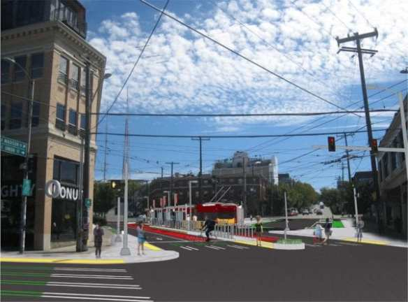 The RapidRide future of E Madison means a redo of one of the Hill's most chaotic intersections where Madison meets 12th and Union
