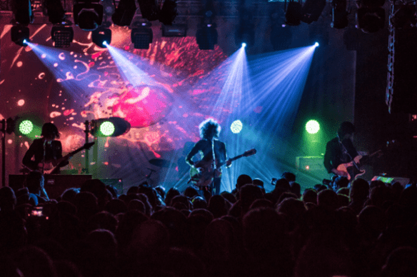 The Temples helped break in the new Neumos sound system over the weekend (Image: David Endicott via Neumos)