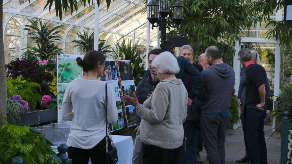 Members of the Capitol Hill community spoke with Owen Richards Architects and the Volunteer Park Trust on April 6 at the Volunteer Park Conservatory (Image:)