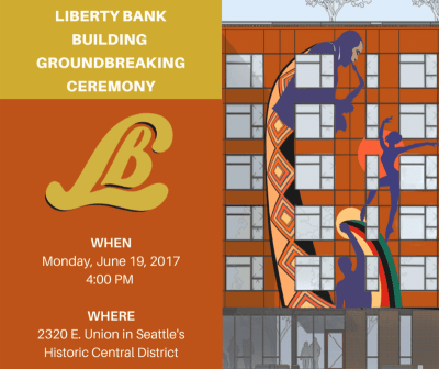 Groundbreaking Ceremony for Liberty Bank Building