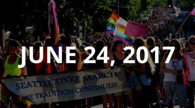 2017 Seattle Dyke March & Rally @ Starts at Seattle Central