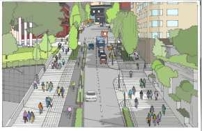 Pike_9th-Melrose_FacingEastFrom9thAve_Proposed