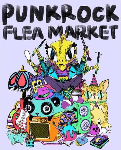 Punk Rock Flea Market 2017 @ Red Apple