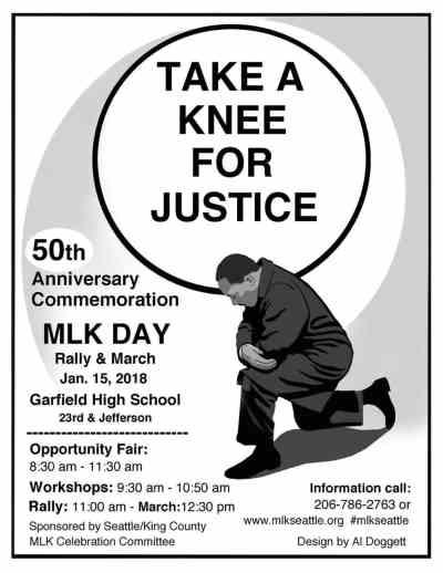 36th Annual MLK Seattle Celebration @ Garfield High School