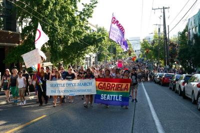 2018 Seattle Dyke March & Rally @ Seattle Central College