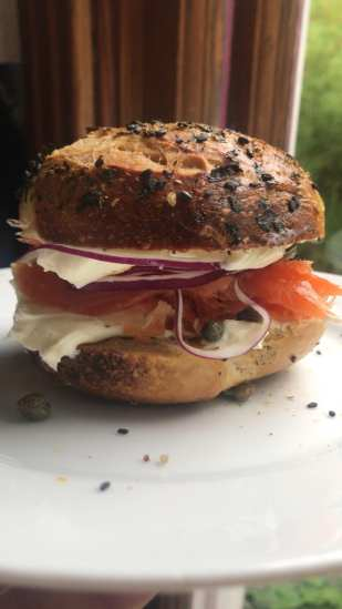 LOXSMITH BAGEL AND BAR MITZVAH POPUP CAFE BRUNCH and Seattle Bagel Club @ Montana Seattle