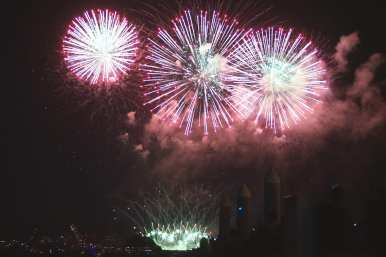 Lake Union Fireworks 20188