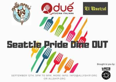 Seattle Pride Dine OUT