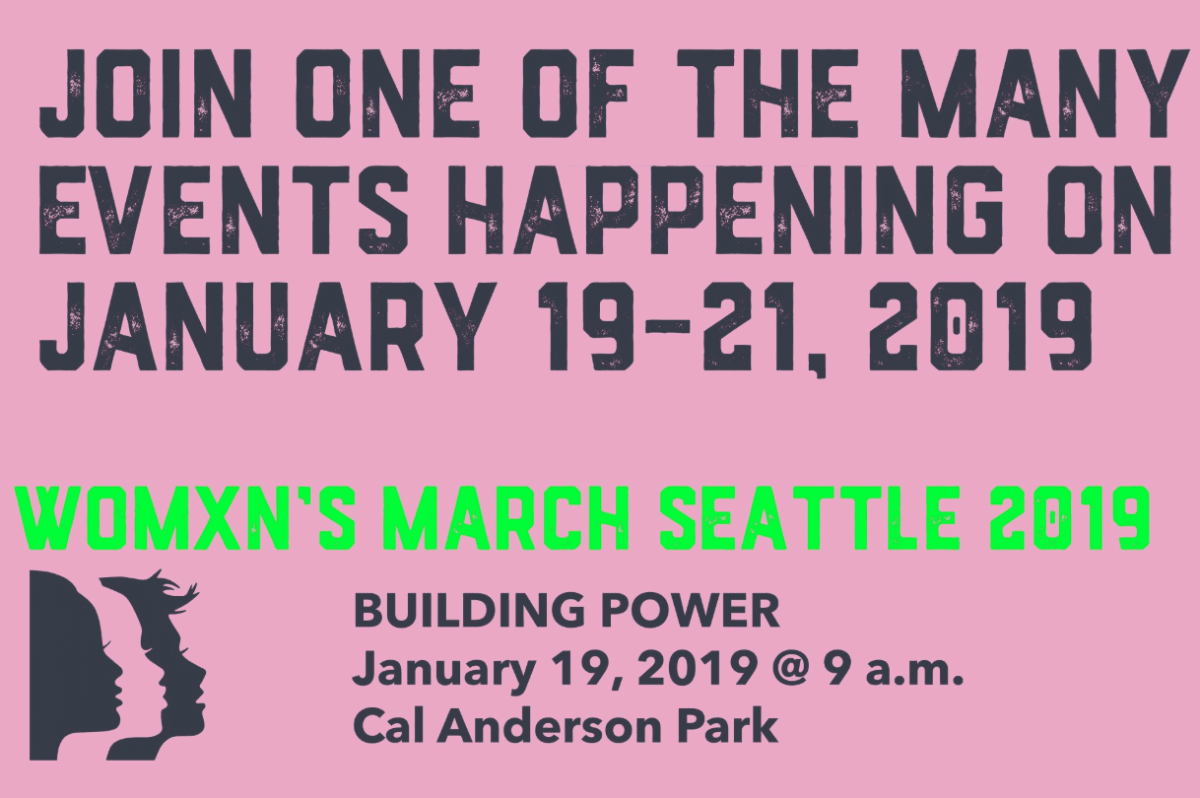 Seattle Women's March 2019 -- UPDATE