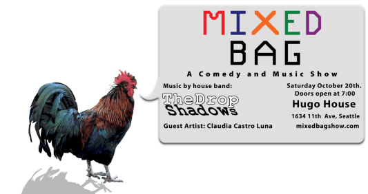 MIXED BAG - An evening of sketch comedy, live music, and stop motion animation @ Hugo House