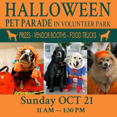 Halloween Pet Parade in Volunteer Park @ Volunteer Park