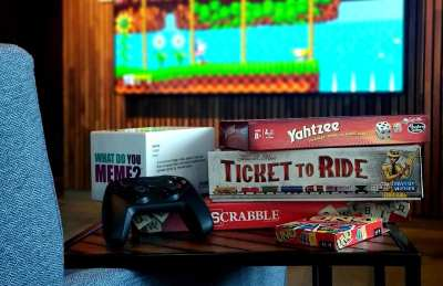 Game Night: Apple TV Gaming, Board Games, and Card Games @ The Lounge By AT&T