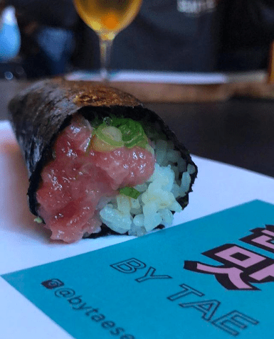 By chef Sun Hong's hand, By Tae handrolls coming to Capitol Hill's Chophouse Row