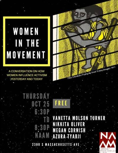 Women In The Movement @ Northwest African American Museum