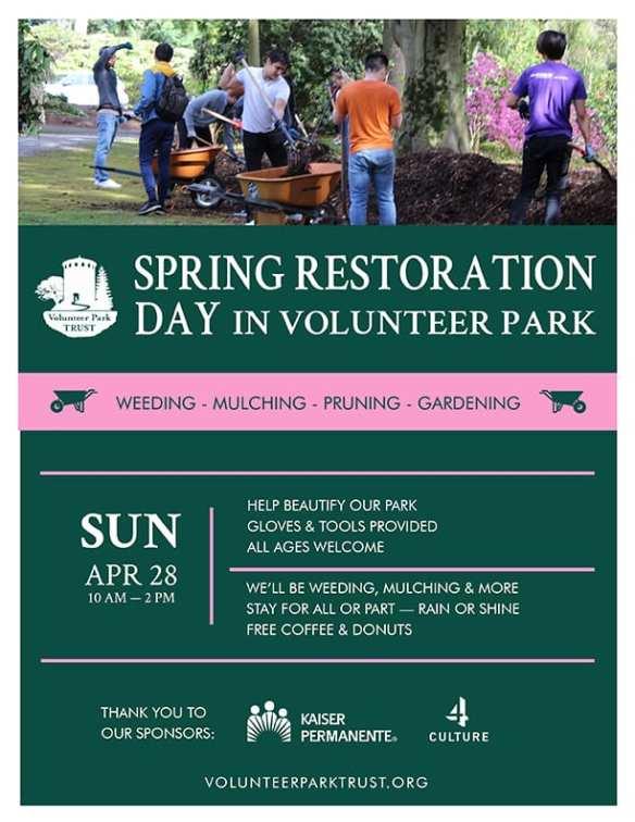 Spring Restoration Day Poster