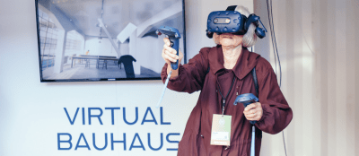 VR EXHIBITION VIRTUAL BAUHAUS @ Goethe Pop Up Seattle