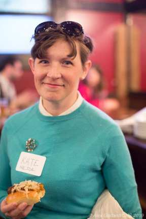 "Kate Nesse -- ""I like his policies for Seattle. I think that if you are going to build a city for the future, build a city for all the people that have made Seattle home over the years, then you have to be addressing housing, be addressing transportation issues, and I think you have to do it in a way that's in conversation with the neighborhood."""