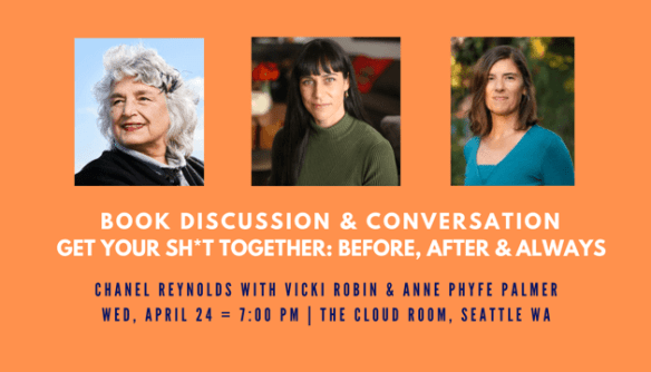 Book Discussion + Panel: Get Your Sh*t Together: Before, After & Always @ The Cloud Room