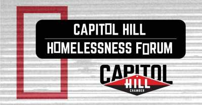 Capitol Hill Homelessness Forum @ Broadway Performance Hall