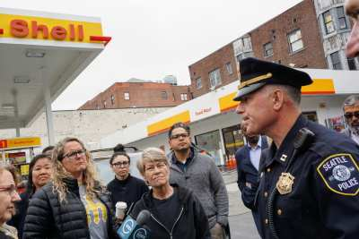 Certain types of crime are up in certain neighborhoods' — Mayor