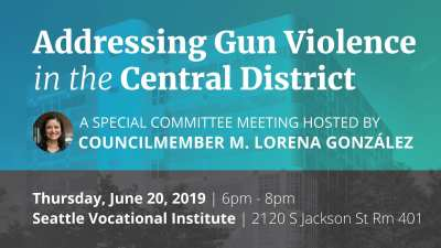 Addressing Gun Violence in the Central District @ Seattle Vocational Institute