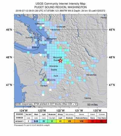 earthquakes   CHS Capitol Hill Seattle