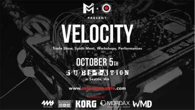 VELOCITY: Synthesizer Trade Show, Education, Workshops, and Live Music @ Substation