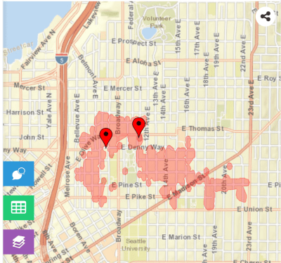 Second big power outage in week hits Capitol Hill — UPDATE ... on seattle city light service area, seattle city light coverage map, seattle city light rebates,