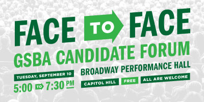 Capitol Hill Community Post | Face to Face Candidate Forum