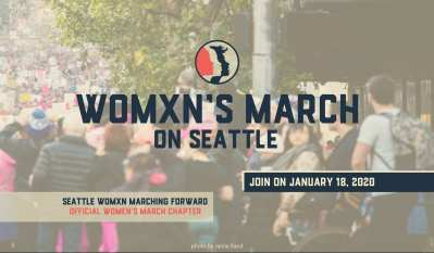 Womxn's March on Seattle 2020 -- RESCHEDULED AND NEW LOCATION @ Jefferson Park