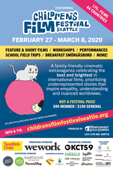 Children's Film Festival Seattle @ Northwest Film Forum