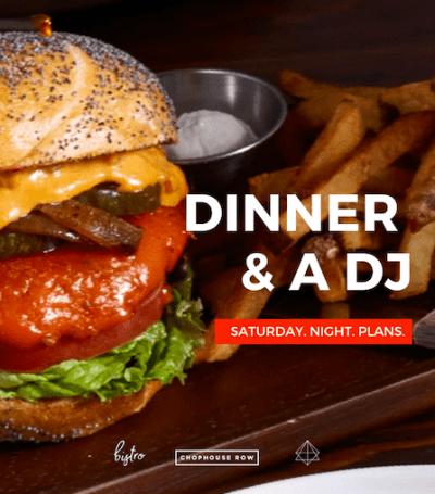 Dinner & a DJ @ @cloudroomseattle Instagram Live