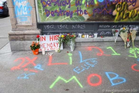 A memorial to Anderson