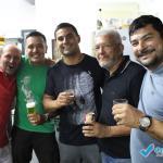 Festa de confraternização na casa de Valdecir e Gisele.