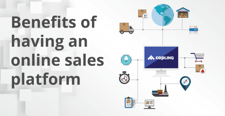 benefits of an online sales platform for your products