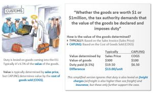 Fiscal representation saves money import duty