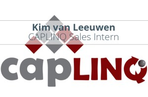 Kim van Leeuwen Sales Internship CAPLINQ Europe Heemskerk