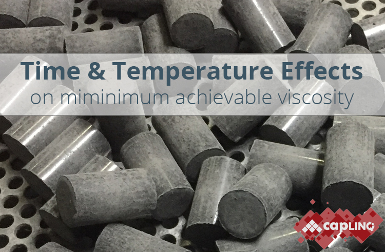 time temperature epoxy molding compounds minimum achievable viscosity