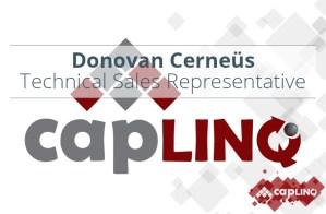 Donovan Cerneus joins CAPLINQ header