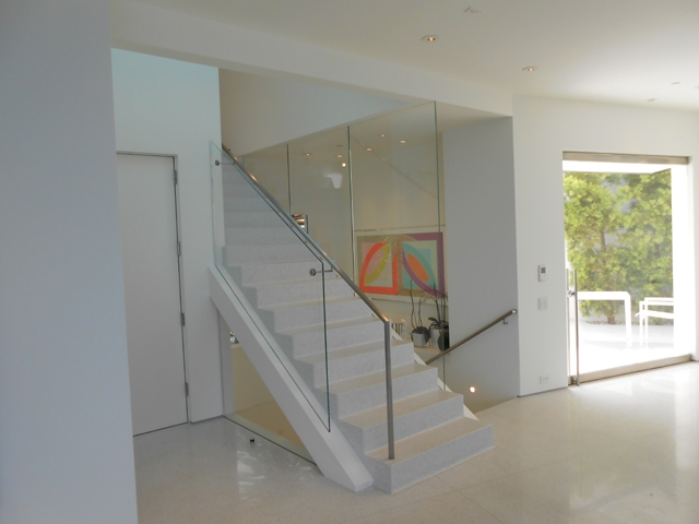 Residential Commercial Glass Window Door Contractor Orange | Stairs Window Glass Design | Classic | Foreign Window | Simple | Stairwell | Grill