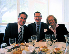 Meg Whitman & Mitt Romney courtesy jurvetson, Flickr