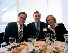 Meg Whitman & Mitt Romney courtesy jurvetson, Flickr