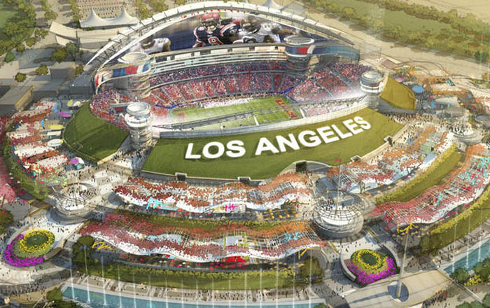 Inglewood Approves NFL Stadium Plan Increases Lead In