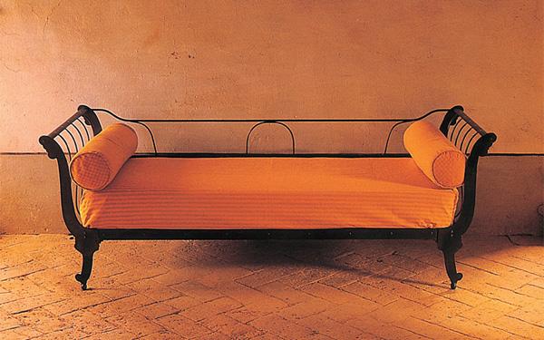 divano letto ferro