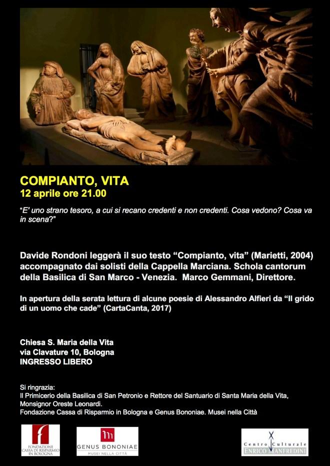 locandina concerto bologna 2017