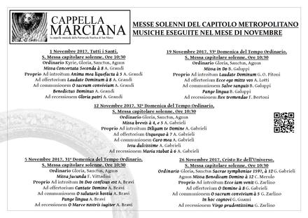 Programma Novembre 2017